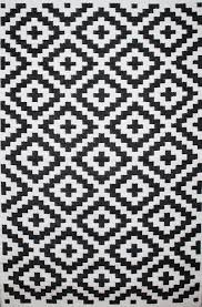 rug 120 x 180. outdoor rug nirvana black and white (120 cm x 180 cm) 120