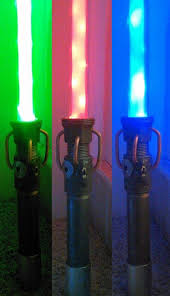 picture of battle ready lightsaber