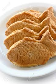 Taiyaki Japanese Fish Shape Cake Stock Photo Picture And Royalty