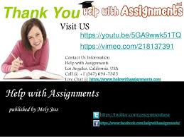 homework assistance supported by help assignments 12 thank you help assignments