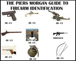 Gun Identification Chart Piers Morgan Gun Id Chart