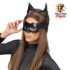 Image Is Loading Rubie S Official Adult Deluxe Catwoman Google Mask