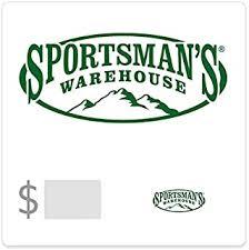 Sportsman's Warehouse Gift Cards - Amazon.com