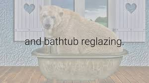 what is the difference between bathtub refinishing and bathtub reglazing