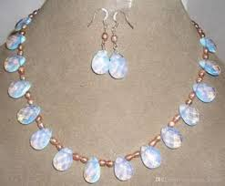 2019 new pink pearl sri lanka moonstone drops pendant necklace earrings jewelry set from yongheng jewelry 29 13 dhgate com