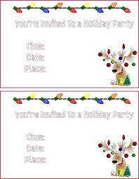 Party Borders For Invitations Free Christmas Party Invitations Zoli Koze