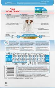 Royal Canin Mini Puppy Food Feeding Chart Best Picture Of