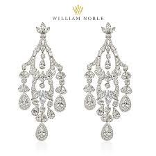 fall jewelry standout diamond chandelier earrings