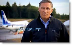Image result for Jay Inslee, the Democratic governor of Washington state
