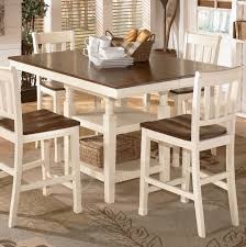 dining room tables sets. tall square dining table | ashley mestler room tables sets