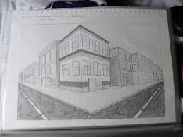 perspective drawings of buildings. 2 Point Perspective Drawing Of Buildings By Rockstarmaddz Drawings