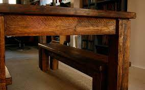 table bench kitchen