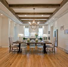Faux Wood Beam Ceiling Designs traditional-dining-room