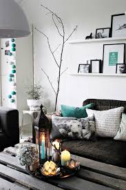 amazing living room accented with turquoise 2 amazing white black bedroom