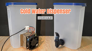 Refrigerated Water Dispenser How To Make A Cold Water Dispenser Homemade Youtube