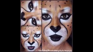 cheetah makeup tutorial for