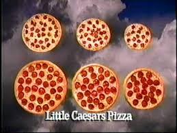 Little Caesars Pizza Commercial 1996 Mpg Youtube
