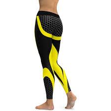 LI FI Yoga <b>Pants</b> Honeycomb Carbon <b>Leggings Women Fitness</b> ...