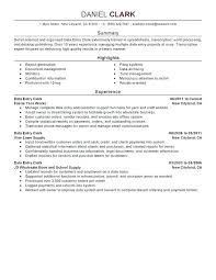 Writing A Good Resume Summary Englishor Com