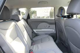 2016 kia soul ev luxury edition rear seating area