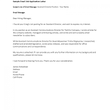 Gallery Of Cover Letter Examples For Job Application Experience