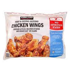The mindset is that you can load. Kirkland Signature Chicken Wings First And Second Sections 10 Lbs Costco