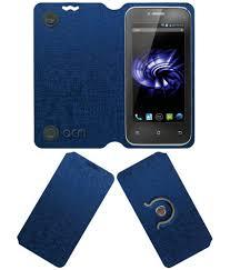 Panasonic T11 Flip Cover by ACM - Blue ...