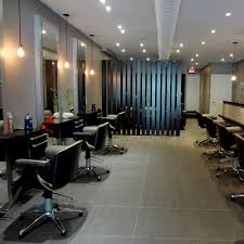 Hair Cutting Salon Interior Design Brixton Parlour Toronto Hair Stylist Interior Leopard