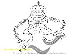 terraria coloring pages with learn how to draw pumpking from terraria terraria step by step of terraria coloring pages at terraria coloring pages