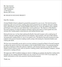 Proposal Letter Format Sample Free Documents In Word For