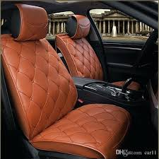 beautiful car seat covers original leather luxury cushion universal for ford baby