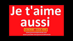 i love you too in french