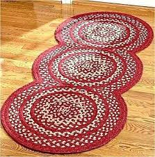 large circular area rugs cheerful large circular rugs new primitive country triple circle braided rug barn large circular area rugs