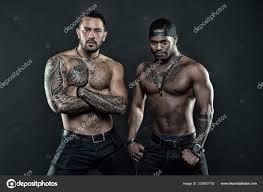 Tattoo Brutální Atribut Muži Brutální Hispánský Odlišoval Od