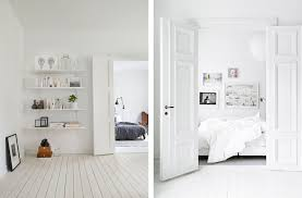 home white. Scandinavian Interior With Light Wood Floors And White Walls - Top 10 Tips For Adding Home E