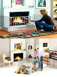 baby proof fireplace gate and play yard diy safety tips