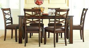 7 piece dining table 7 piece dining room set cherry 7 pc glass dining table set