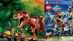 Image result for lego jurassic world game