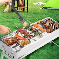 CERCHIO Portable Charcoal <b>BBQ</b> Grill Stai- Buy Online in Trinidad ...