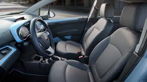 2015 chevy spark interior. the 2015 spark ev with 2lt trim cloth is replaced by leatherette chevy interior
