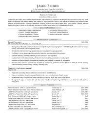 Site Superintendent Resume Download Construction Superintendent Resume Sample DiplomaticRegatta 10