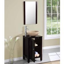 Silkroad 19 inch Single Vessel Sink Bathroom Vanity
