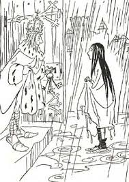 princess and the pea coloring page. princess and the pea by rackham coloring page p
