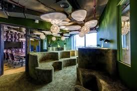 modular nature inspired meeting space at google tel aviv visualnews amazing office space