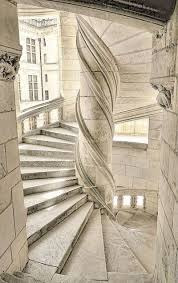 Leonardo da vinci is best known for his artwork, but he also invented many contraptions that were way ahead of their time. Leonardo Da Vinci Staircase Chateau De Chambord La Rouchefoucauld France 1519 Architecture Stairs Architecture Details