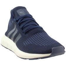Adidas Swift Run Light Blue Shoes Adidas Originals Swift Run Navy Black Trace Blue Mens Running Shoes 11 5