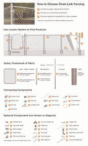 16 Gauge Chain Link Fence Gate Posts Galvanized Steel Chain Link