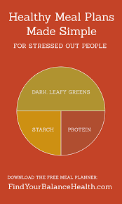 Healthy Meal Plans Made Simple For Stressed-Out People | Find Your ...