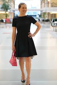 skirt the ceiling home skirt the ceiling w wearing classic black dress for business casual work place