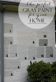 brick painting ideasBest 25 Brick house colors ideas on Pinterest  Painted brick